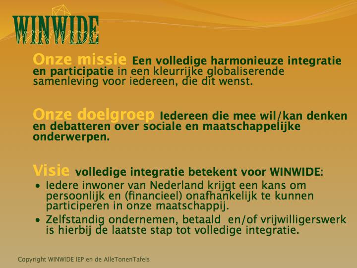 WINWIDE IEP 6 missie