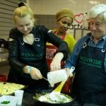 Europa kookt Portugees en Russisch
