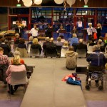 publieke vioolles met International Violin Class of The Hague