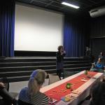 Wethouder Ingrid van Engelshoven luidt WINWIDE's eerder genoemde nieuwe themaprogramma in.