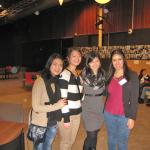 Youy en haar zusje uit Thailand (links), Erica Leong uit Malaysia (midden); Jamie Verdier in Nederland geboren uit Nederlands-Indische ouders