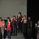 Uitbeelding van het Jodendom. De gasten werd gevraagd met hun tafelgenoten verschillende godsdiensten en/of filosofische stromingen uit te beelden