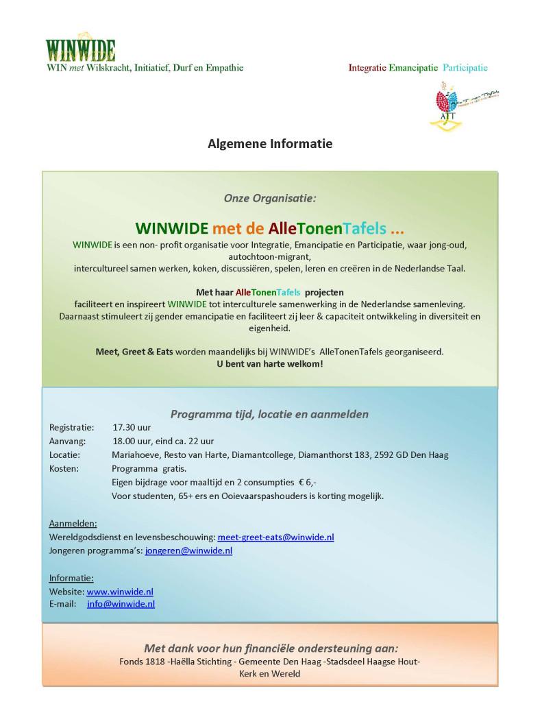 Activiteiten Programma 2014-2015.I. WINWIDE-ATT pagina 2